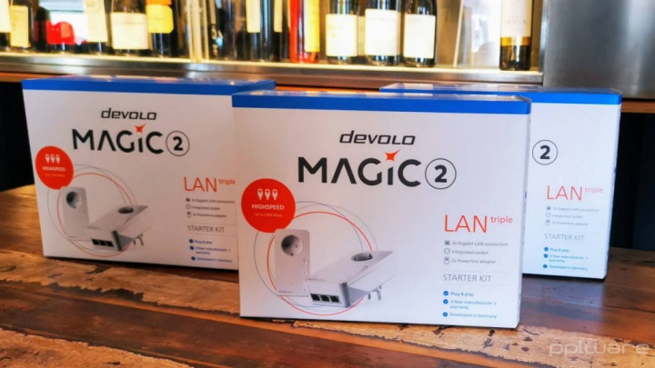 devolo Magic Wi-Fi rede Powerline