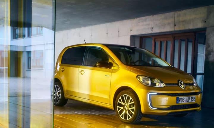 Novo Volkswagen elétrico e-up aparece online por 22.725 euros