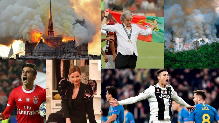 O Ano em Revista pelo Facebook - Os momentos que mais marcaram 2019 em Portugal