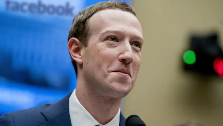 Imagem CEO do facebook, rede social que teve nova fuga de dados dos utilizadores
