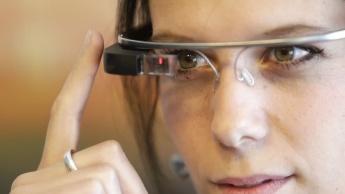 Imagem Google Glass que perde suporte e tem fim à vista