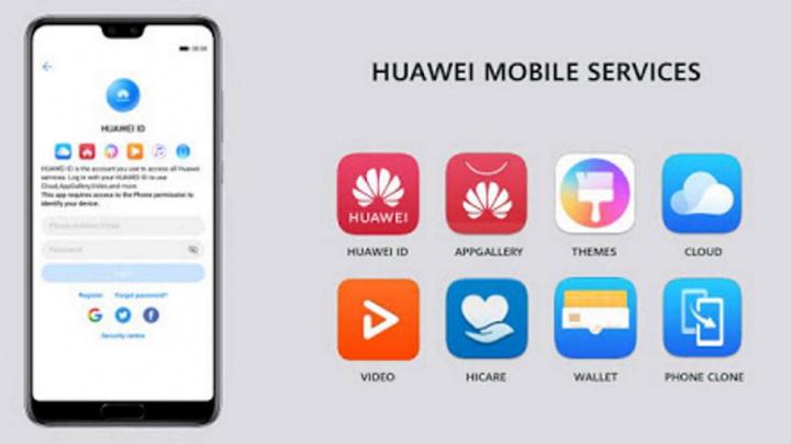 HMS Huawei Google smartphones serviços