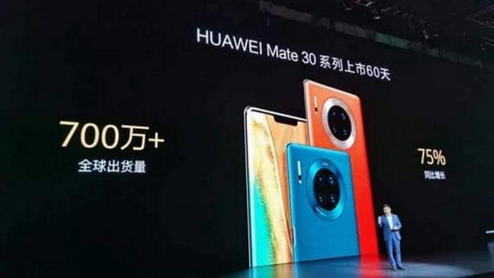 Mate 30 Huawei smartphones Google mercado