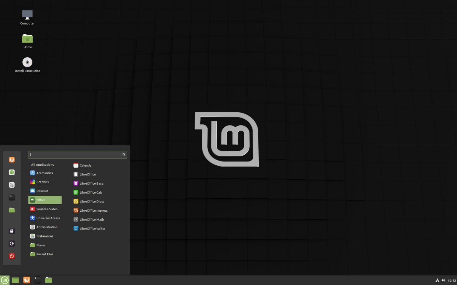 Medo Do Linux Chegou O Novo Linux Mint 19 3 Tricia