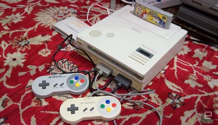 Histórico protótipo de uma Nintendo PlayStation vai ser vendido em leilão