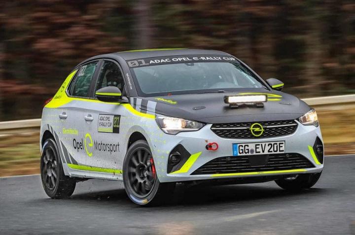Corsa-e Rally: Carro 100% elétrico da Opel custará 55 mil euros