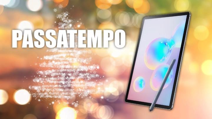 Passatempo de Natal: Ganhe um Samsung Galaxy Tab S6