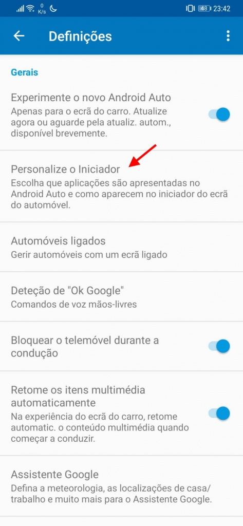Android Auto tempo apps Google