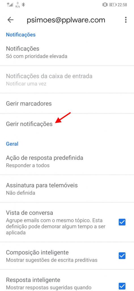 e-mail Google