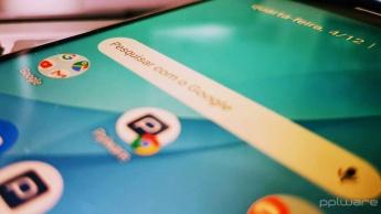 Android Google pesquisar barra Chrome