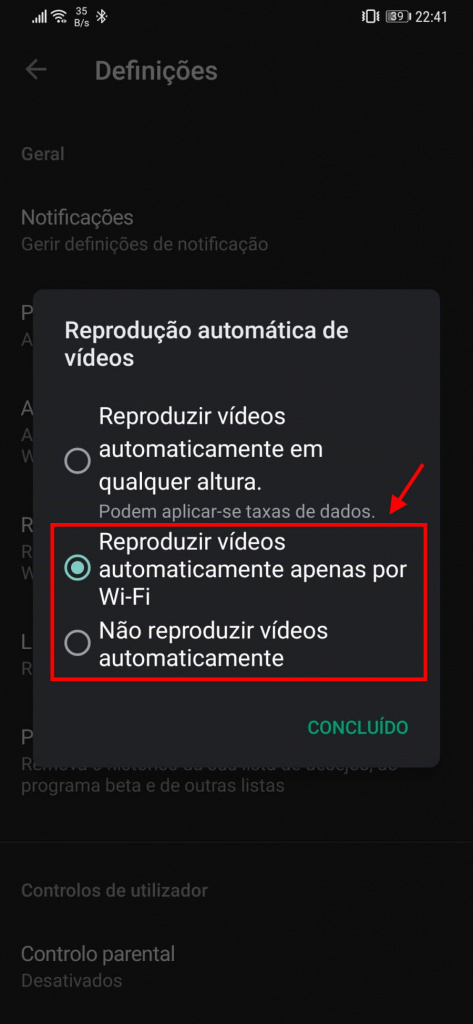 Tip: Reduce Play Store Data Consumption by Ending Videos