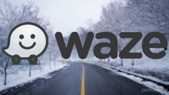 Waze inverno estradas condutores neve