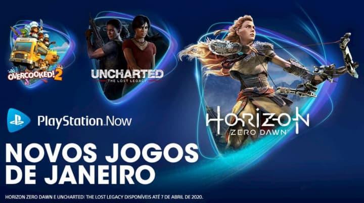 Playstation Now com novidades refrescantes no início do ano