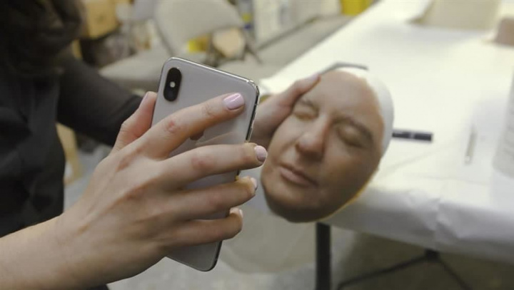 Imagem Face ID da Apple