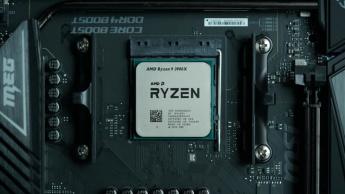 Imagem do processador Ryzen da AMD. Intel perdeu o pódio em 2020