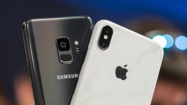 Apple Samsung radiação smartphones FCC