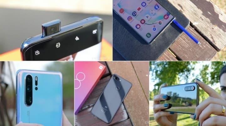Top 5 melhores smartphones de 2019 - Xiaomi, Samsung, Huawei, OnePlus