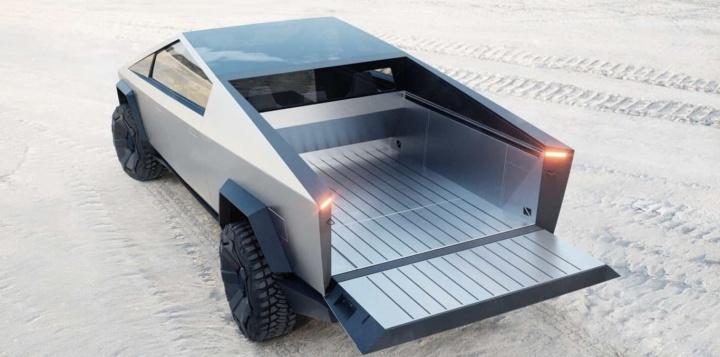 Apanhada! Tesla Cybertruck já circula nas estradas da Califórnia