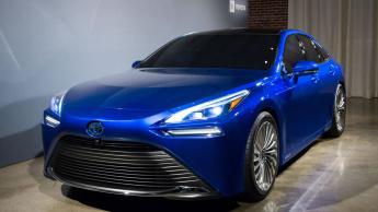 Imagem carro a hidrogénio Toyota Mirai