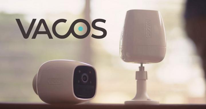 Vacos Cam AI- A câmara de vigilância com AI e visão noturna a cores