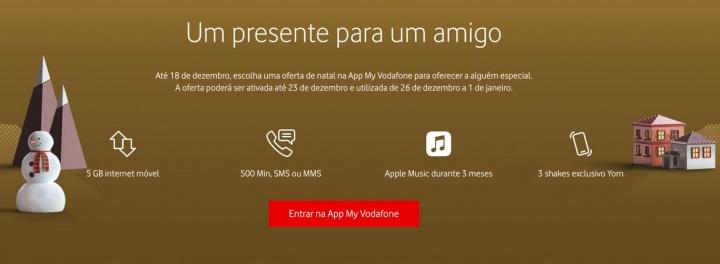 É cliente Vodafone? Aproveitem a oferta de 10GB de internet