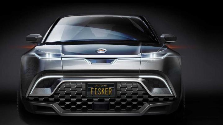 Fisker Ocean: O crossover elétrico concorrente do Tesla Model Y
