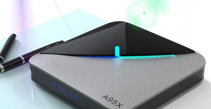 TV Box A95X F3 - Uma opção Android com processador Amlogic S905X3
