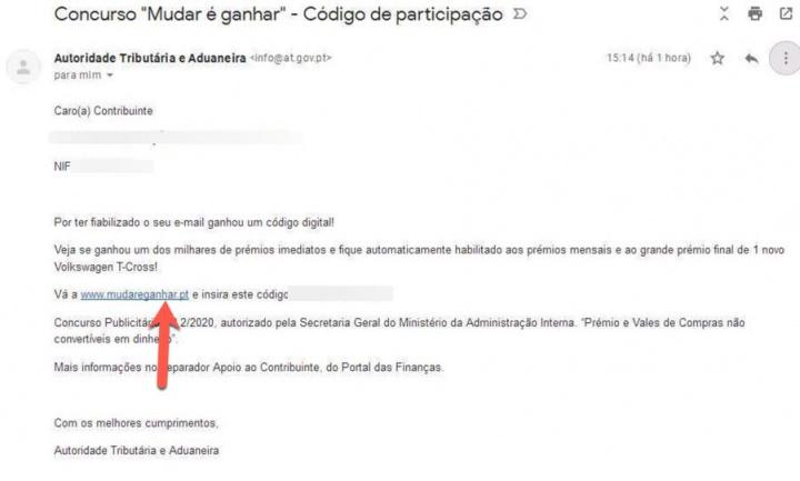 Finanças: Recebeu um e-mail de um concurso? É mesmo verdade