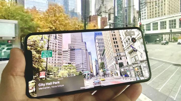 Imagens dos novos Mapas da Apple