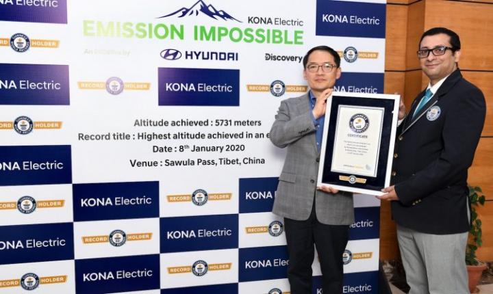 Hyundai Kona bate recorde do Guinness! Saiba porque...