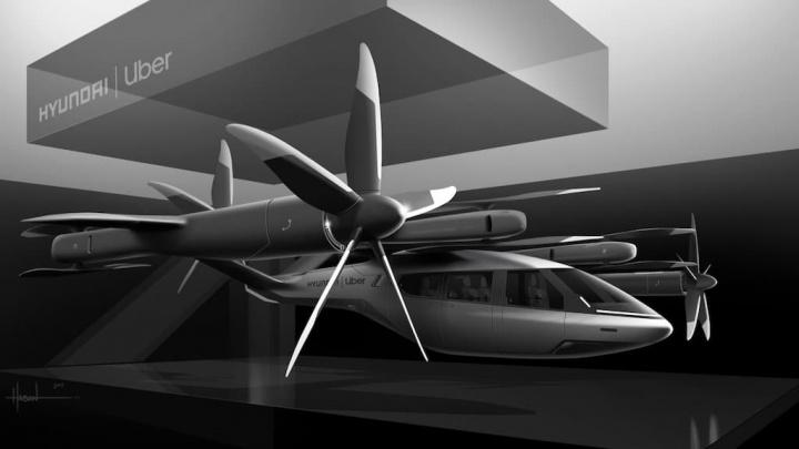 Uber e Hyundai querem levar o seu táxi aéreo para produção em massa carro voador