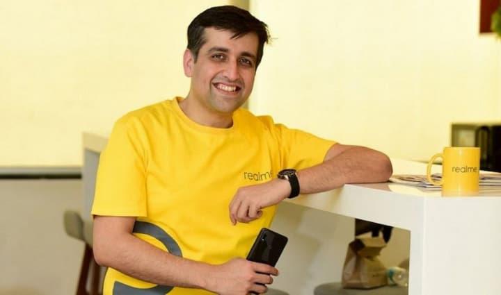 Madhav Sheth, CEO da Realme revela data de lançamento de uma smartband