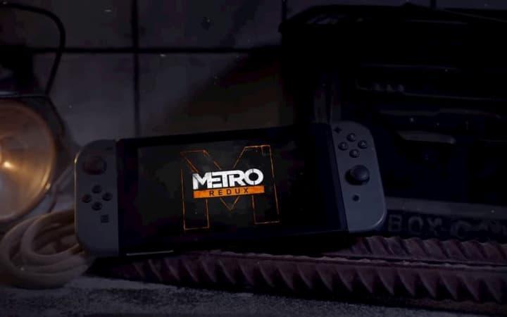Metro 2033 prestes a chegar à Nintendo Switch