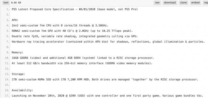 PS5 - Especificações finais, data de lançamento e preço