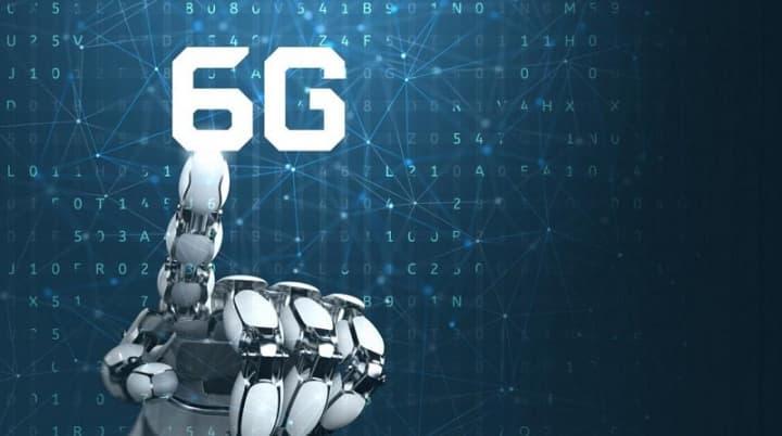 Imagem ilustração tecnologia 6G que é 10 vezes mais rápida que o 5G