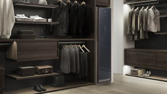 Não gosta de lavar ou passar a roupa? A Samsung lançou um armário que faz isso por si