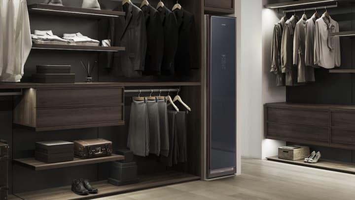 Não gosta de lavar ou passar a roupa? A Samsung lançou o armário AirDresser que faz isso por si