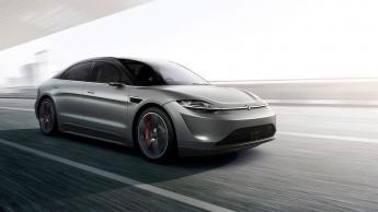 Sony surpreende tudo e todos ao apresentar o carro elétrico VISION-S na CES 2020 mobilidade