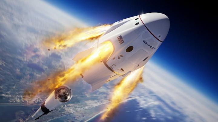 Teste de segurança à Crew Dragon da SpaceX foi adiado para hoje devido à meteorologia NASA