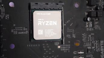 Imagem de um Ryzen, marca de processadores AMD que se aproxima da Intel