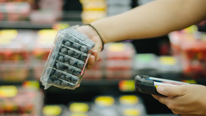Imagem que ilustra monitorização de produtos alimentares com blockchain