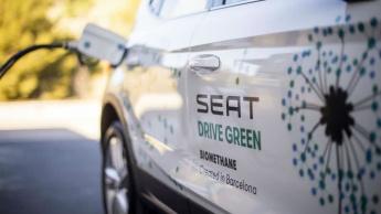 Imagem de carro a receber biometado, livre dos efeitos do CO2