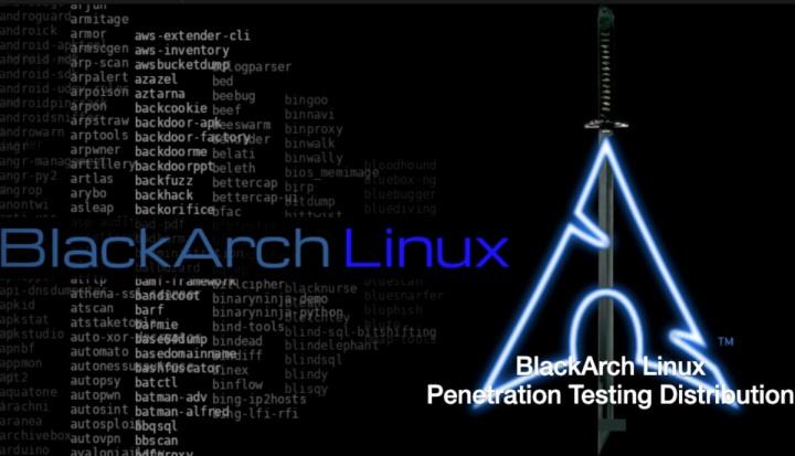 BlackArch Linux 2020.01.01! Esta distribuição é perigosa...