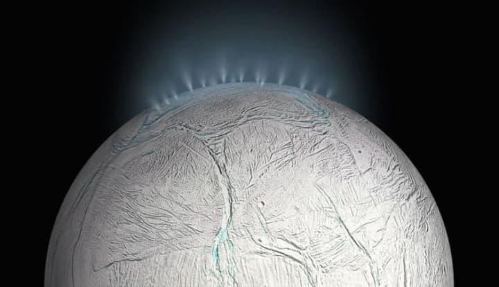Lua de Saturno Encélado terá dióxido de carbono no oceano