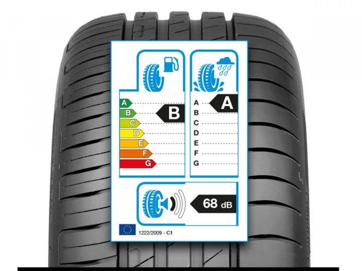 Tires: The 3 information on the sticker label