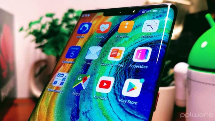 Mate 30 Pro Huawei Google serviços apps