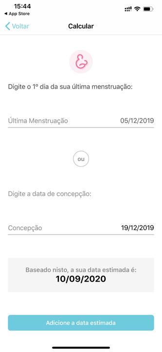 Gravidez + app android e ios