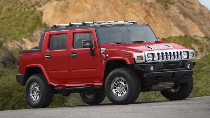 Hummer GM elétrico carro ambiente