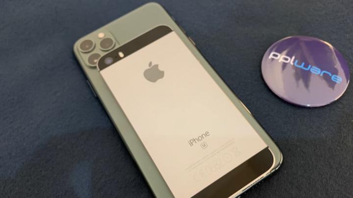 Imagem iPhone Se e iPhone 11 Pro Max que terão iOS 14