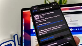 Imagem iPhone com iOS 13.3.1 beta